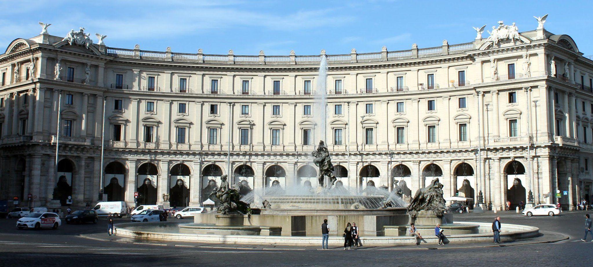 Fountain Of The Naiads Piazza Della Repubblica Rome Rome Photo Rome Walking Tour