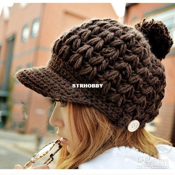 crochet baggy hat pattern   ... Beanie Mustache Mask Face Warmer Ski Knitted Winter Hat Cap # L03020