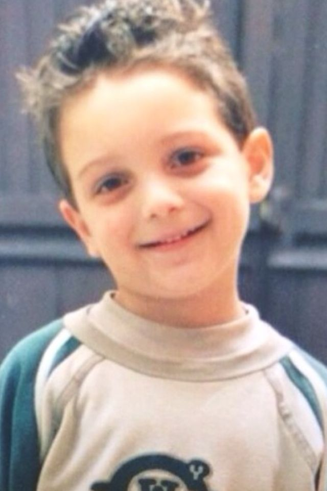 Gianluca was the cutest three-year-old ever honestly!!