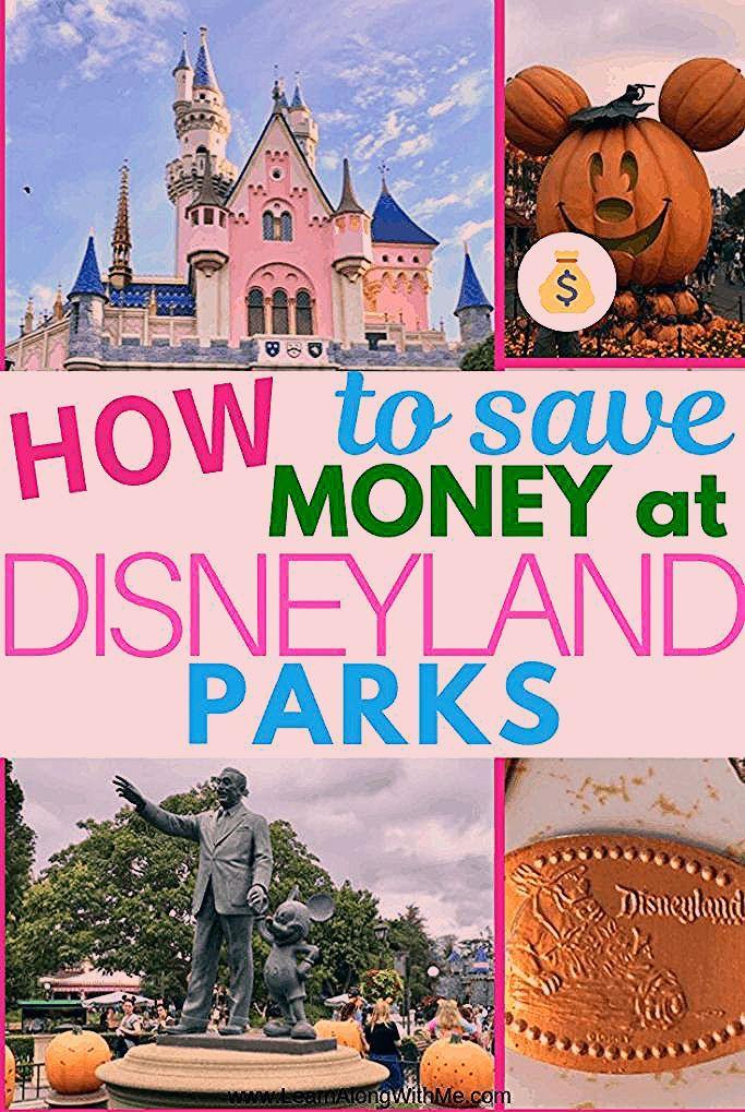 Disneyland Tips - How to save money at Disneyland