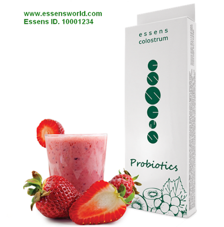 "ESSENS Colostrum dietary supplement Probiotics - Yogurt created from for/prebiotic mixture ESSENS represents the so-called ""functional food"".  I.e. a food produced from naturally occurring ingredients that are in addition to the nutritive value and positive effect on the health of the consumer.  To be part of Essens Style log in and register for free with ID: 10001234 http://www.essensworld.com http://www.essenseurope.com http://www.essensworld.ru ESSENS ID:  1010002981"