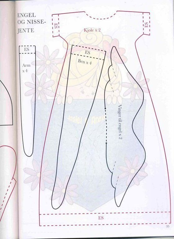 patrones de vestidos para muñecas tilda - Buscar con Google | tildas ...