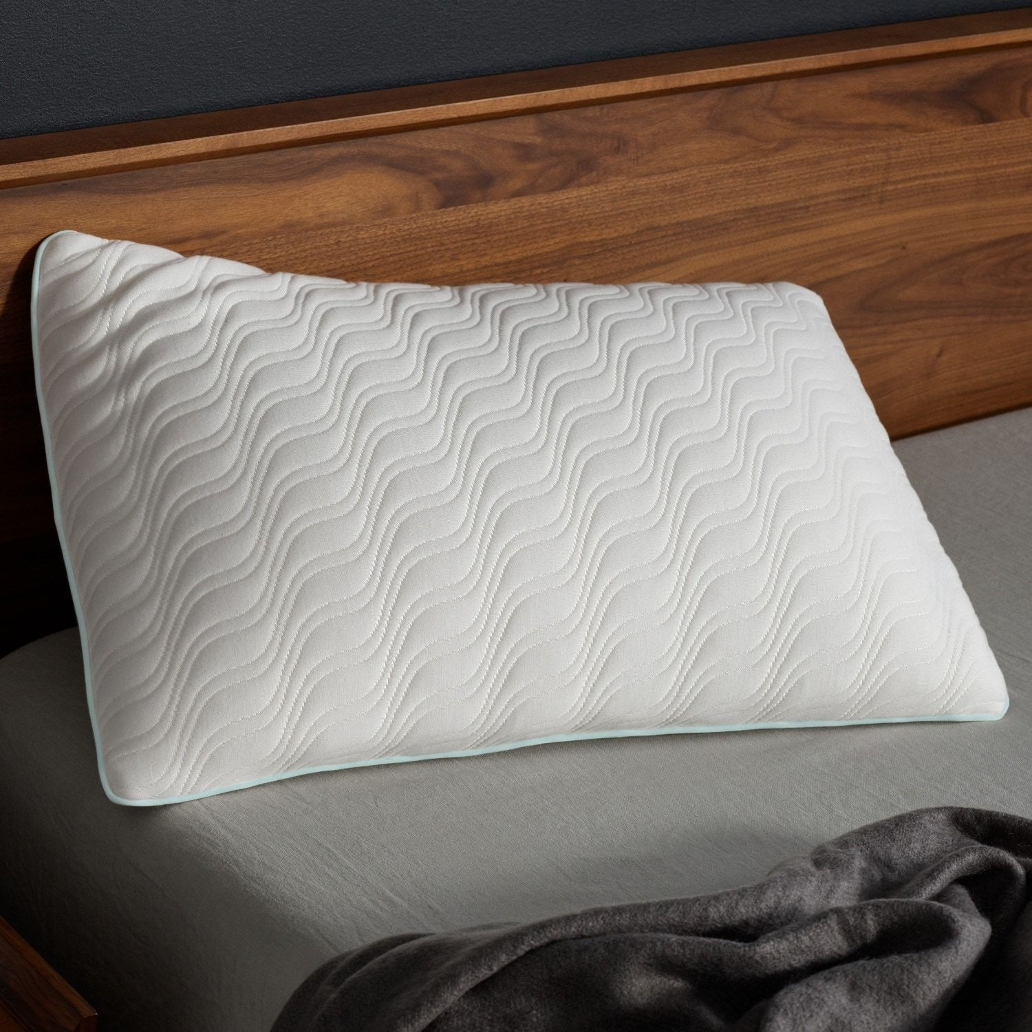 Tempur Proform Mid Profile Soft Pillow Queen Any Black