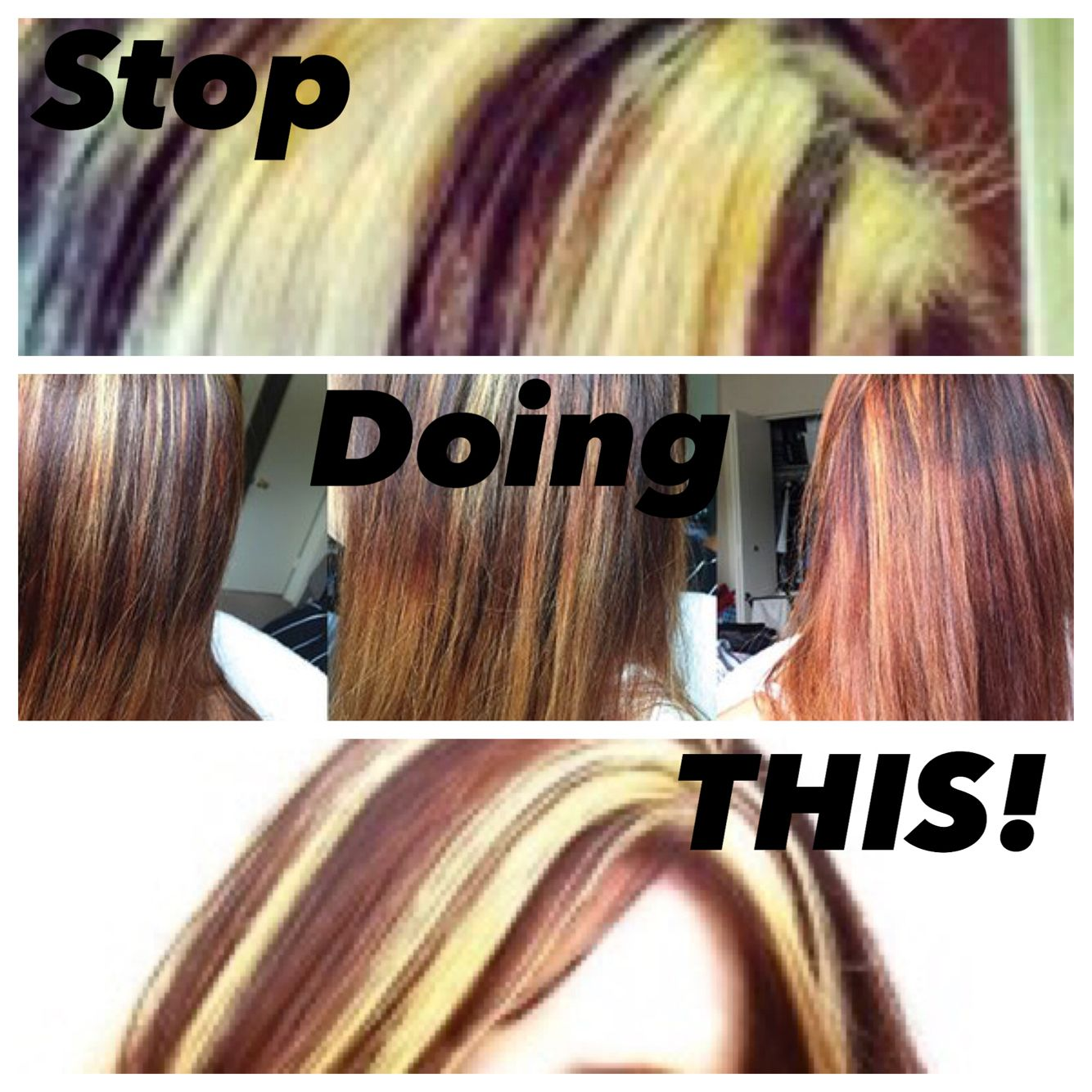 Highlight Hair Dye Fails Hair Fails Highlight Hair Dye Hair Highlights