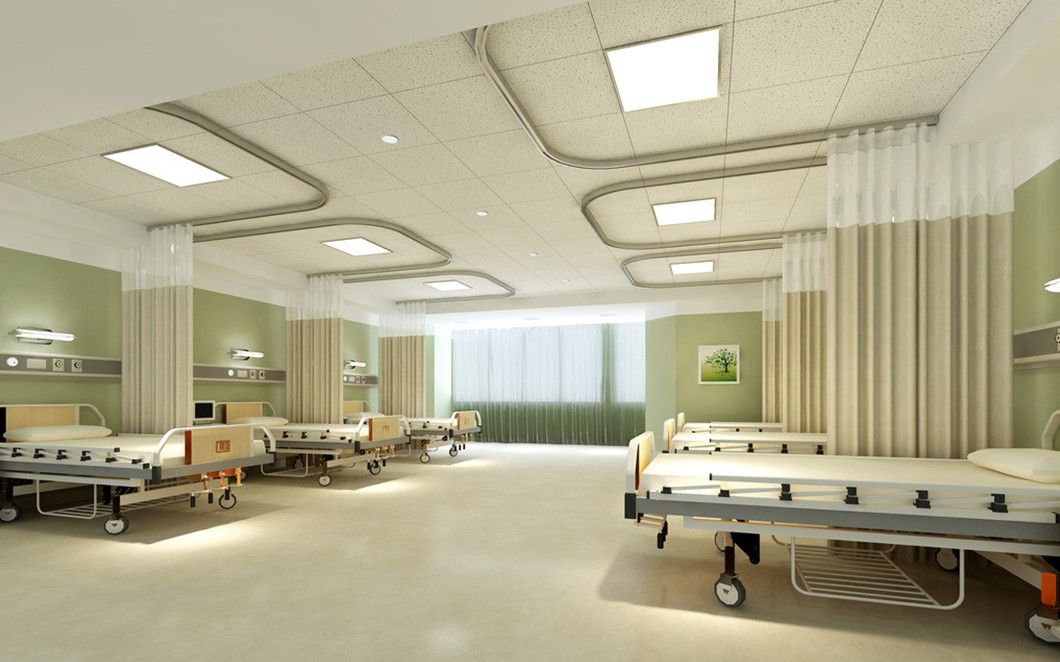Hospital ward interior design | Download 3D House | Healthcare ...
