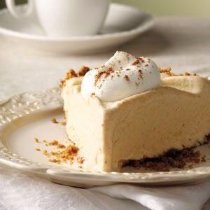 Frozen Pumpkin Mousse Pie #Food #Drink #Trusper #Tip