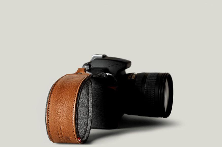 Camera Strap Grey Classic