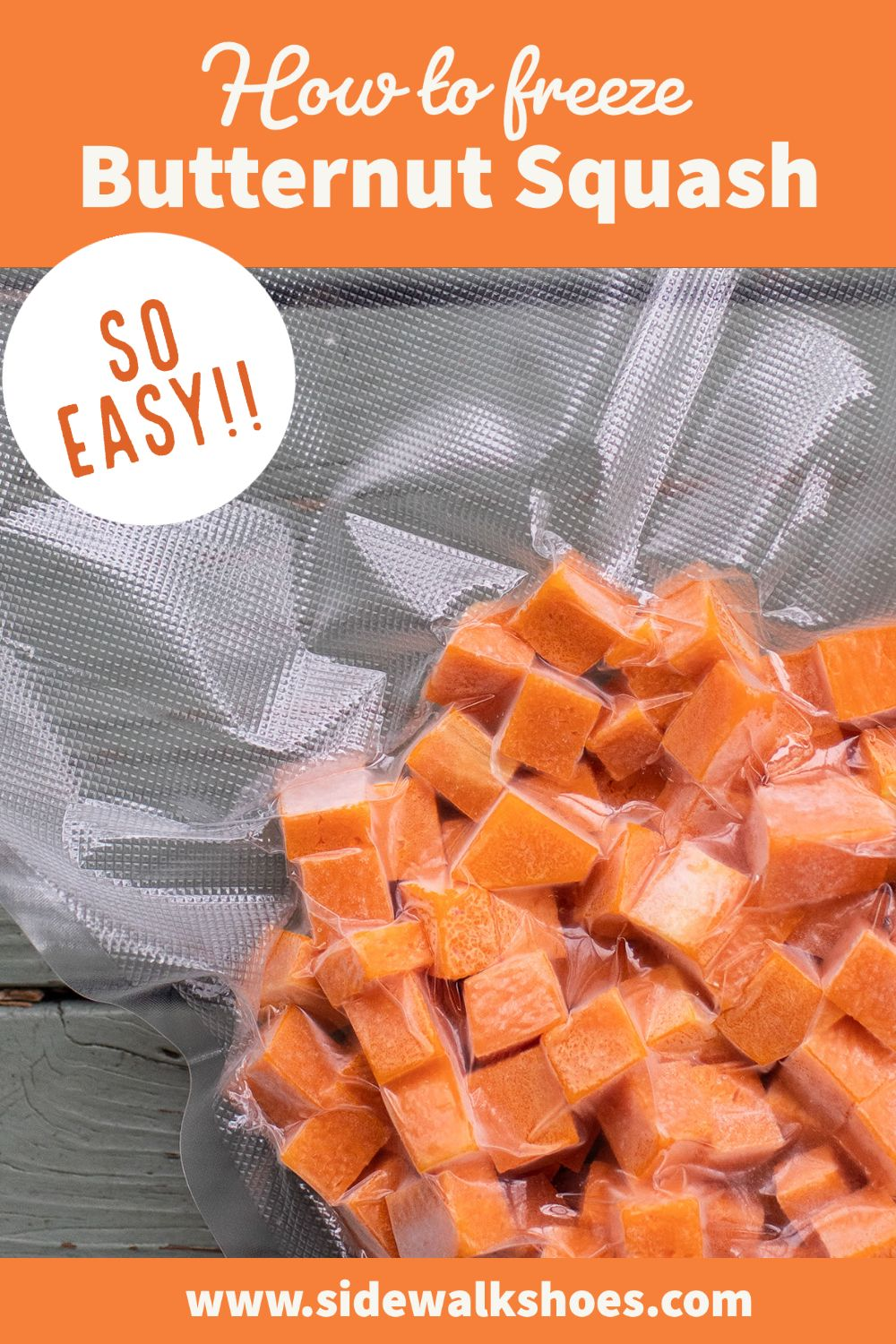 How To Freeze Butternut Squash Recipe In 2021 Frozen Butternut Squash Butternut Butternut Squash