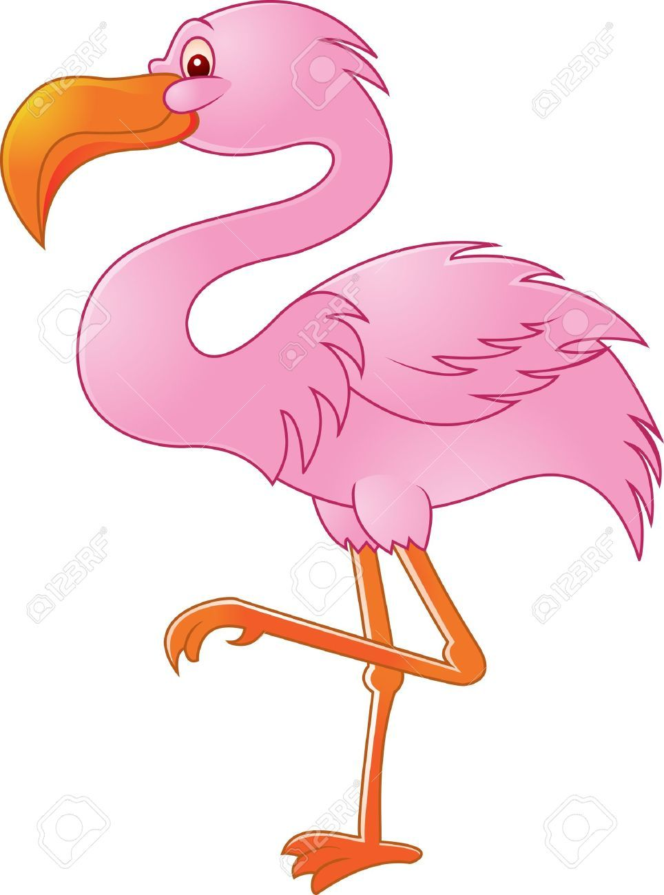 pink flamingos cartoon - Google Search | Flamingos ...
