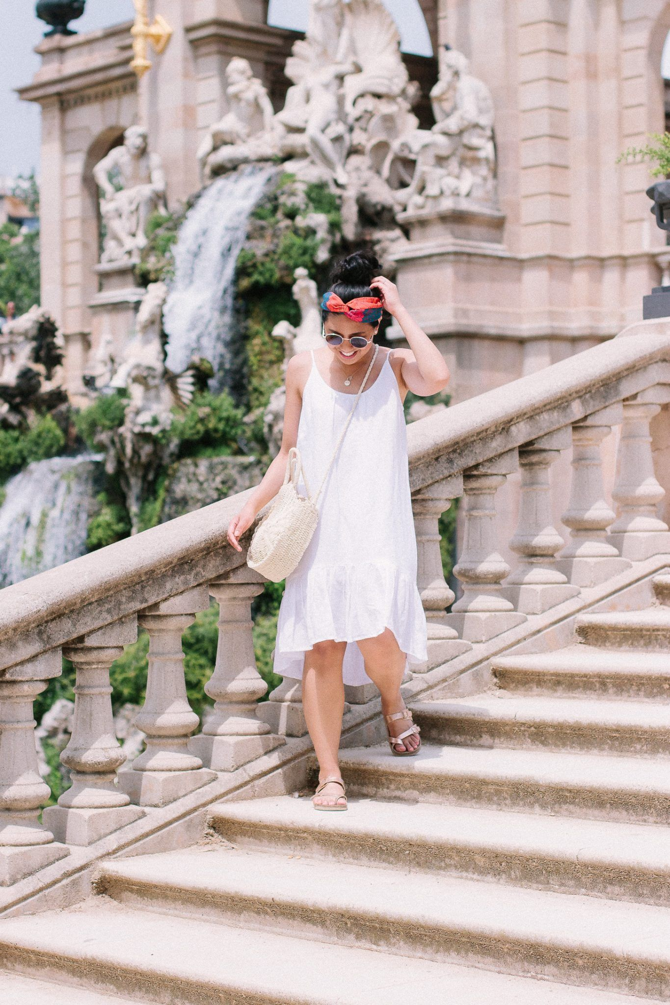 How to accessorize a white summer dress rds obsessions