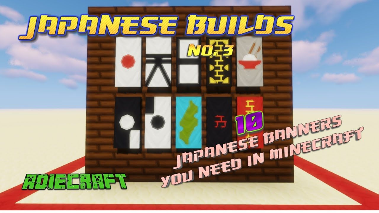 how to make letters on banners on minecraft
