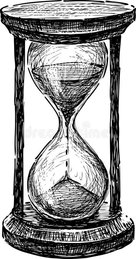 Hourglass stock vector. Illustration of sandglass, white - 35901361