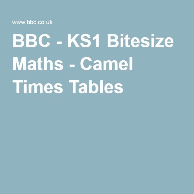 Bbc Ks1 Bitesize Maths Camel Times Tables