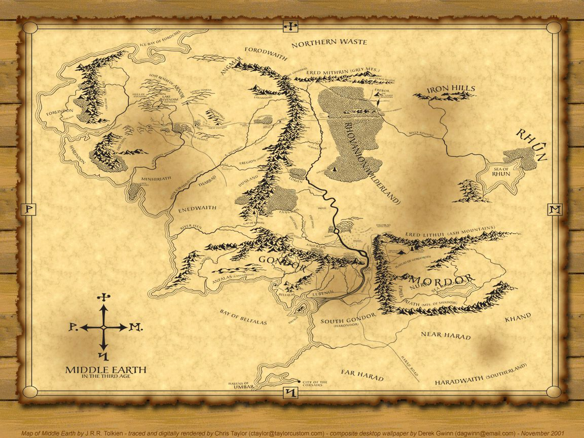 Top 5 Fictional Maps of Places Youu0027d