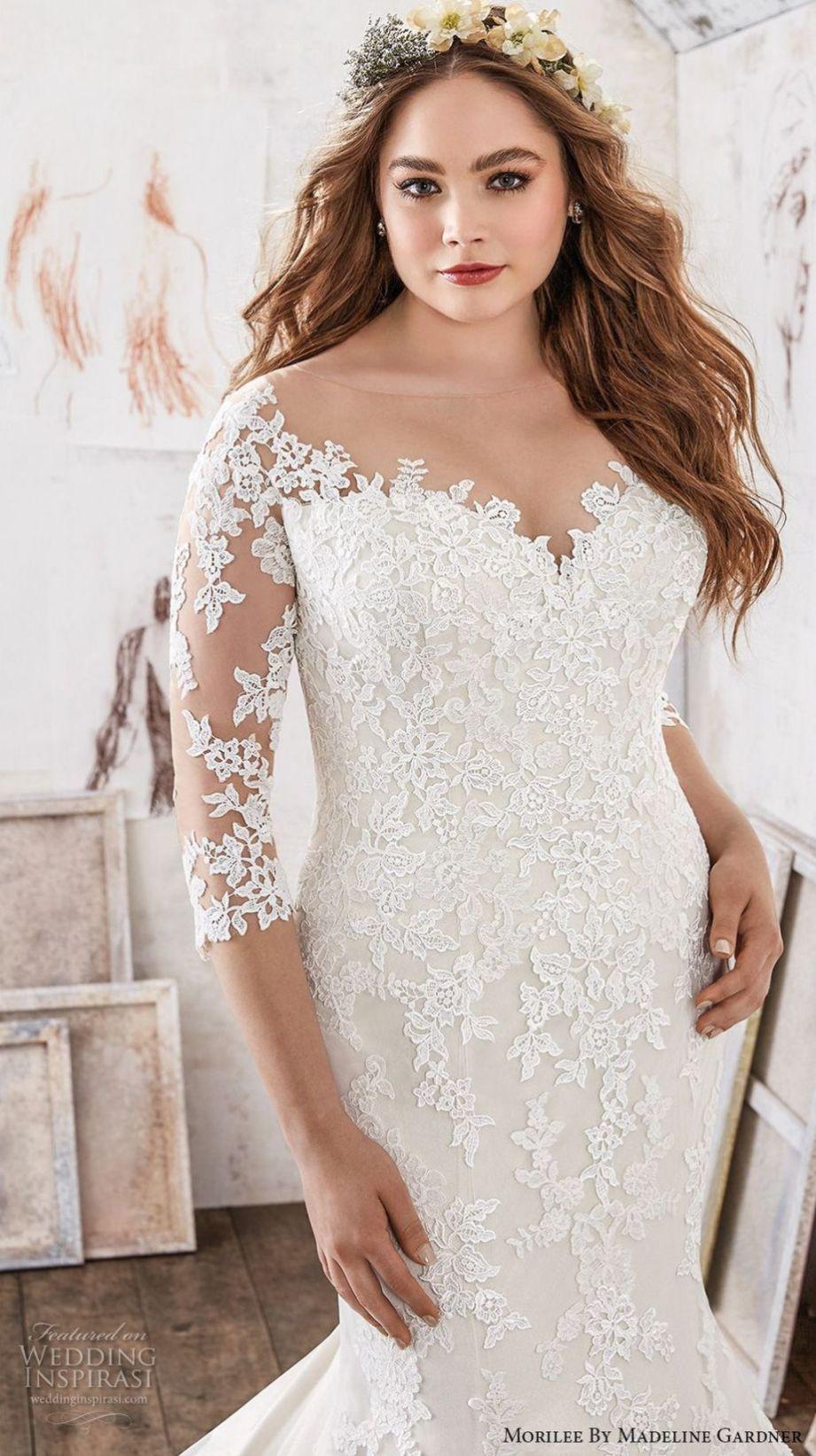 Cute plus size mermaid wedding dresses ideas cameron
