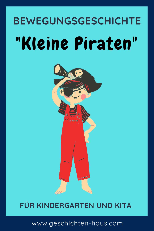 Bewegungsgeschichte Piraten für Kinder (▷ kostenlos)