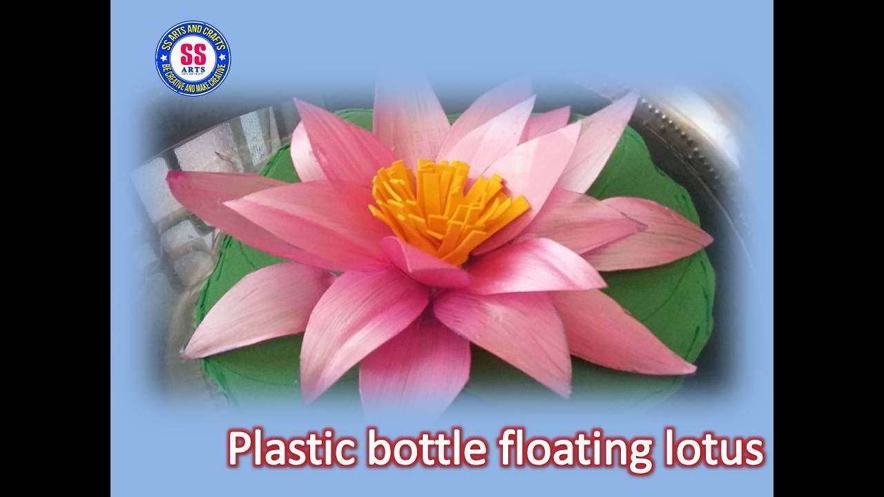 Diy Plastic Bottle Floating Lotus Flower Floral Fun Other