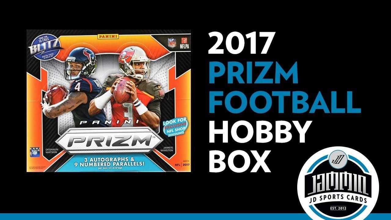 2017 panini prizm football hobby box break football box