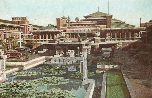 imperial hotel tokyo japan from 1923 to 1967 frank lloyd wright rh pinterest com