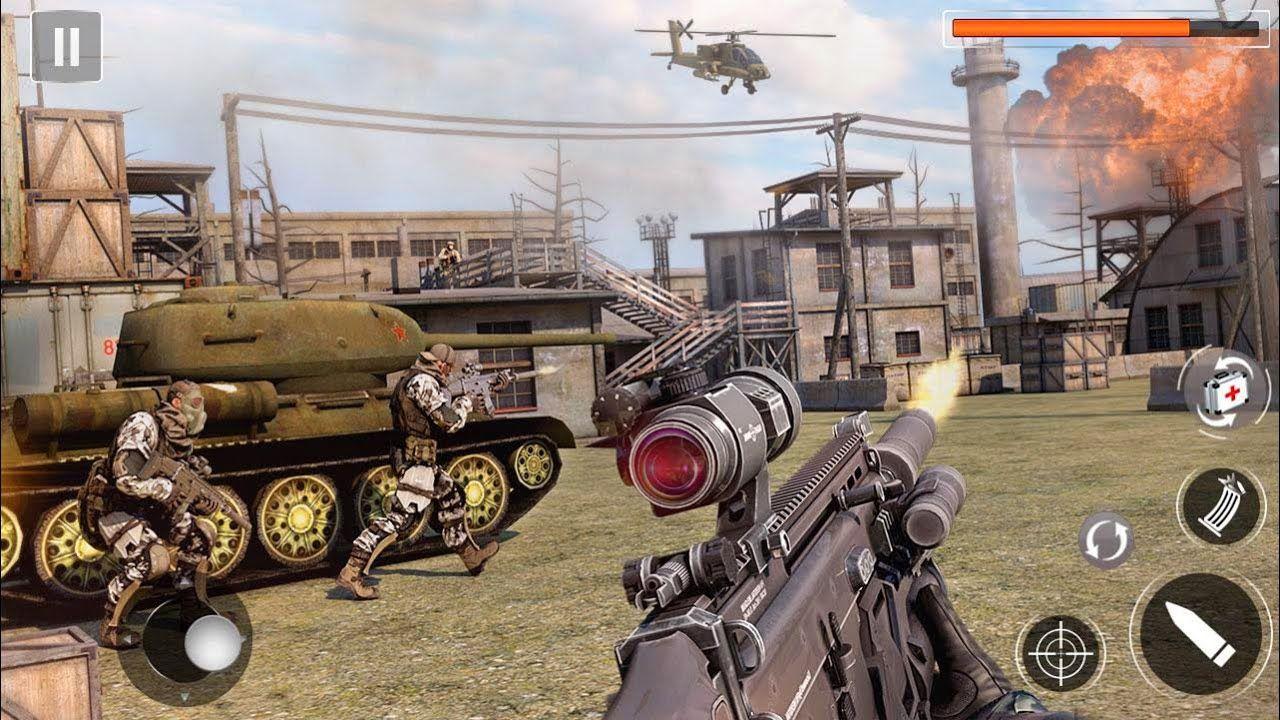 Army Mega Shooting 2020 Fps Shooting Games Android Gameplay Shooting Games Fps Games Sniper Games