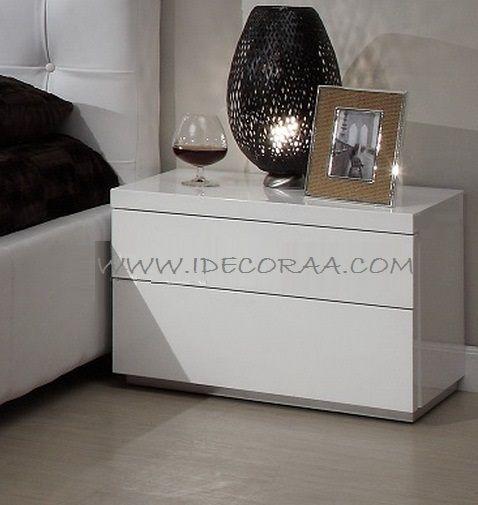 MODERNO MUEBLE MINIMALISTA MESA DE NOCHE IDECORAA Cuartos - mueble minimalista