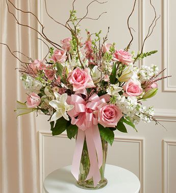 Wedding Flowers Arrangements Know Why You Should Pick Pink Floral Arrangement Large Flower Arrangements Funeral Flower Arrangements White Flower Arrangements