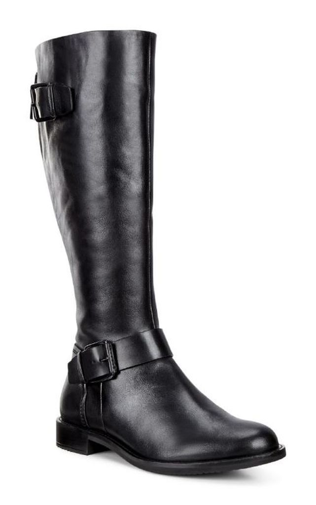41e4482614 ECCO SHAPE 25 TALL BOOT $239.99 Some boots were made for walking, others  for being admired. These double-buckle detail knee-high boots with  handcrafted ...