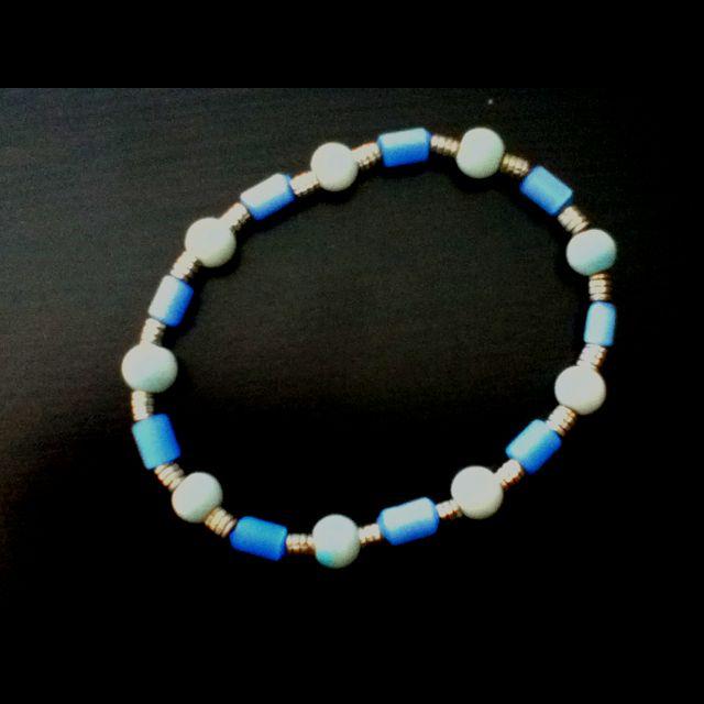 Cute blue bracelet