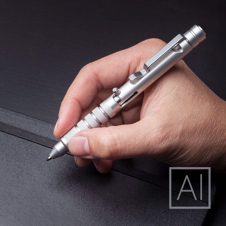 Kickstarter GP 1945 Bolt Action Plus Pen Machined Aluminum Silver by GPCA