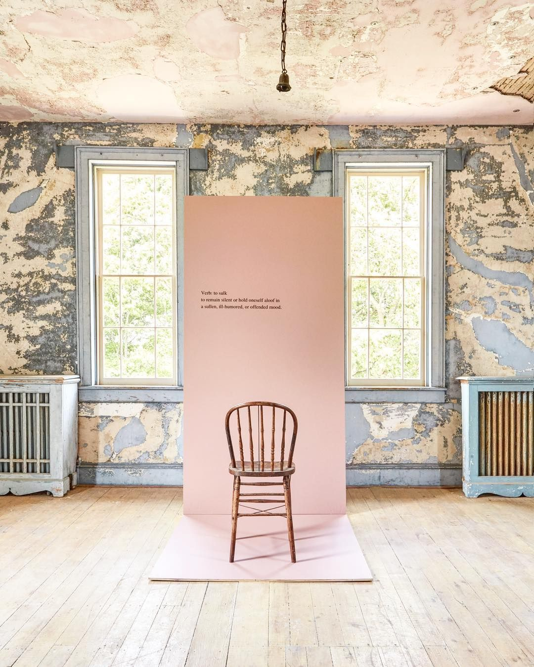 Colour Study Farrow And Ball Sulking Room Pink The New