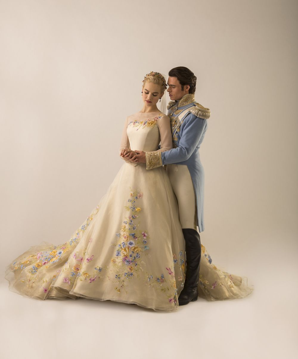 Cinderella Style Wedding Gowns: We're Swooning Over This Cinderella-Inspired Wedding Dress