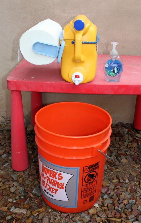 Photo of Hand Washing Station | Awesome camping hack