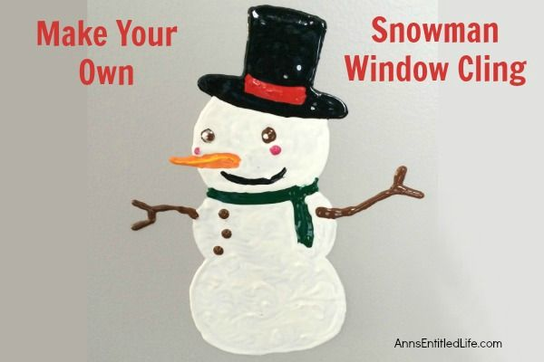Make+Your+Own+Snowman+Window+Cling
