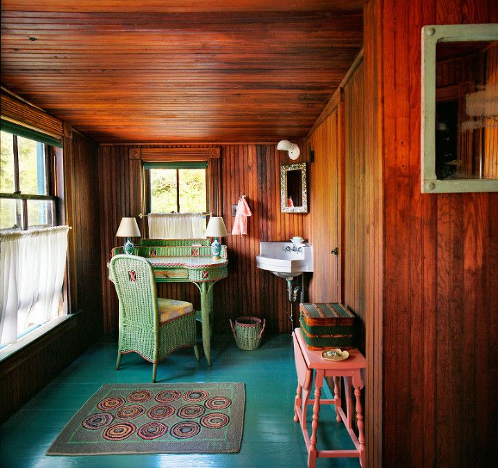 Vintage Knotty Pine Paneling: The Knotty Pine Problem: 3 Alternatives To Painting It All