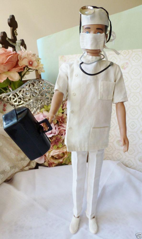 Vintage Barbie Vintage Ken Doll Clothes 793 Doctor Ken 1963 1965 Ken Doll Doll Clothes Vintage Barbie
