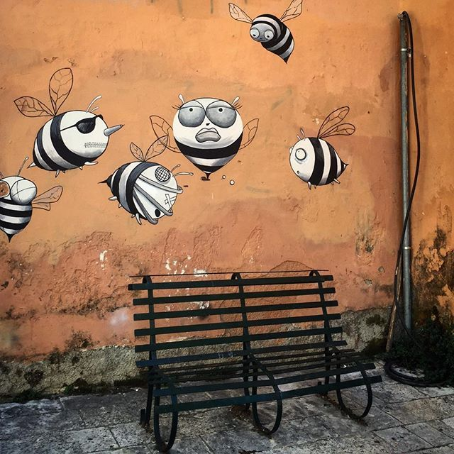 Včely #přežraný