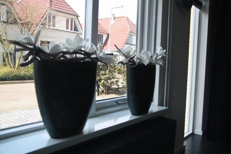 Vensterbank my home pinterest decoration living for Decoratie vensterbank