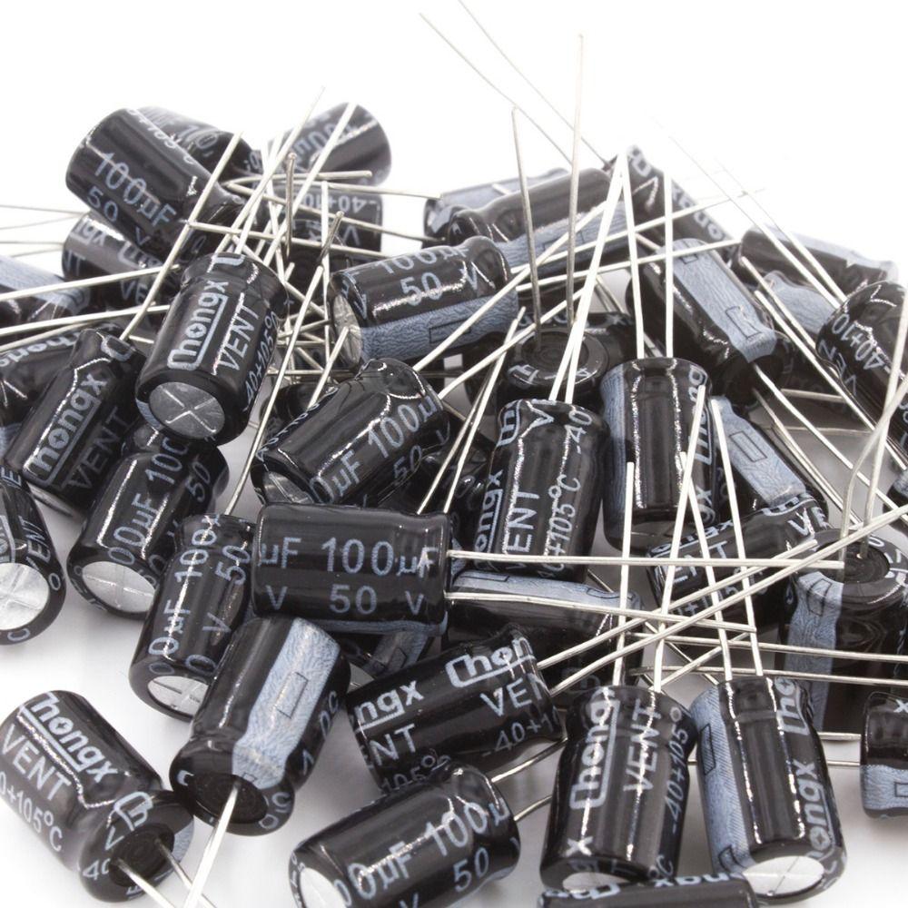 Us 22 11 Mcigicm 1000pcs Aluminum Electrolytic Capacitor 100uf 50v 8 12 Electrolytic Capacitor Capacitor 100uf Capacitor 100uf 50velectrolytic Capacitors Al Capacitors Electrolytic Capacitor Passive