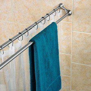 Bathroom Shower Curtain Rod Duo