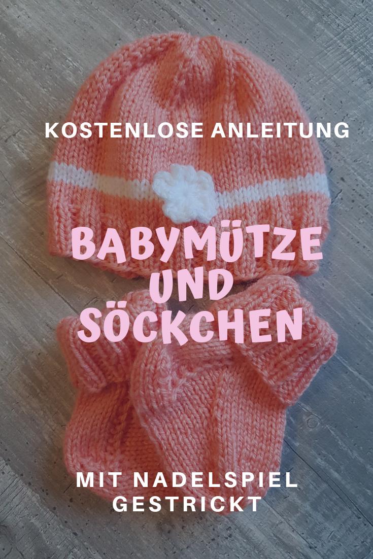 Ensemble bébé pour fille tricoté avec mes aiguilles Addi!   – Babyparty