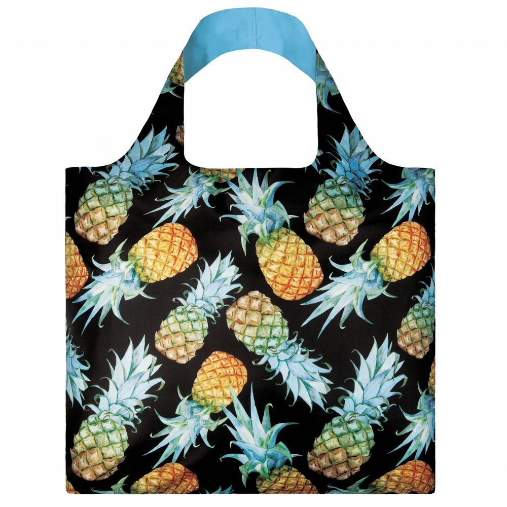 Pineapple Shopping Bag: This strong reusable shopping bag by LOQI ...