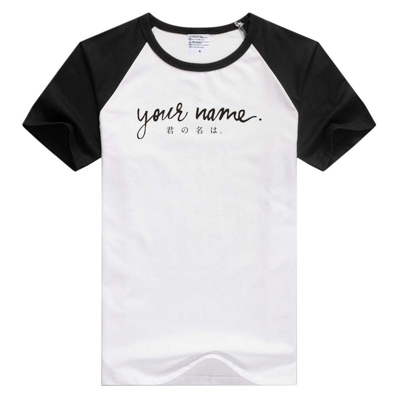 Find More T Shirts Information About Anime Your Name Kimi No Na Wa