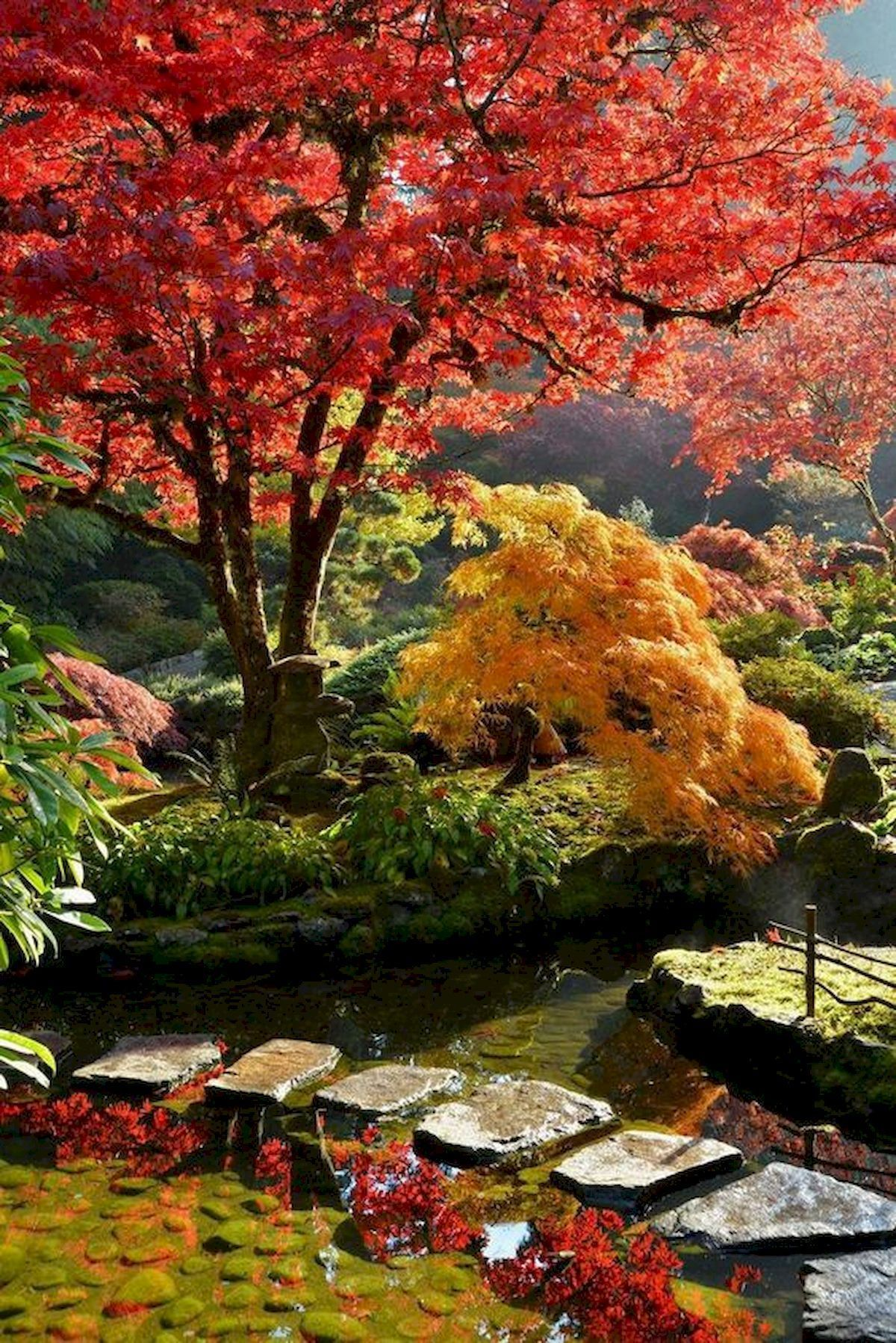 80 Beautiful Side Yard And Backyard Japanese Garden Design Ideas (1) - artmyideas #japangarden