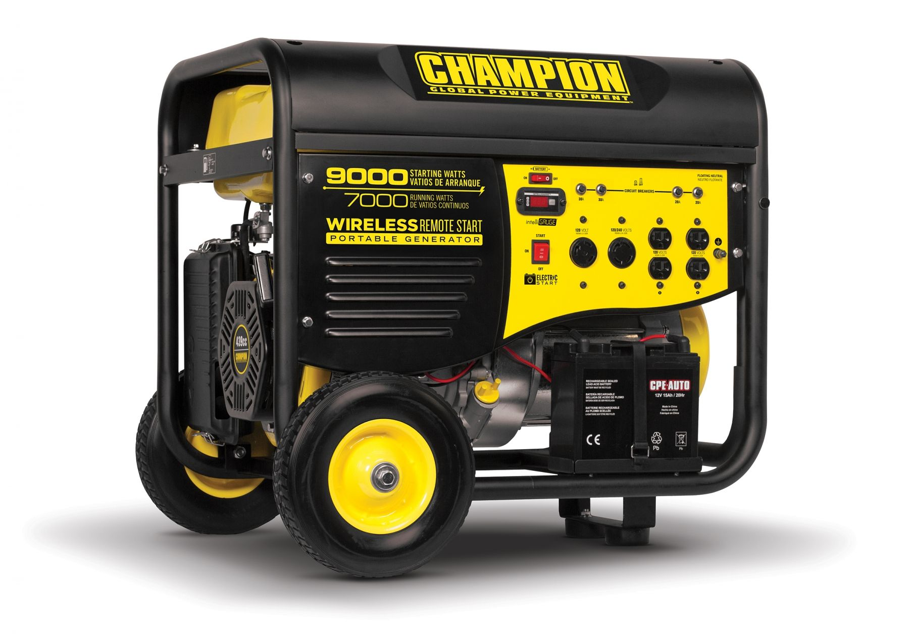 41532r refurbished 70009000w generator remote start