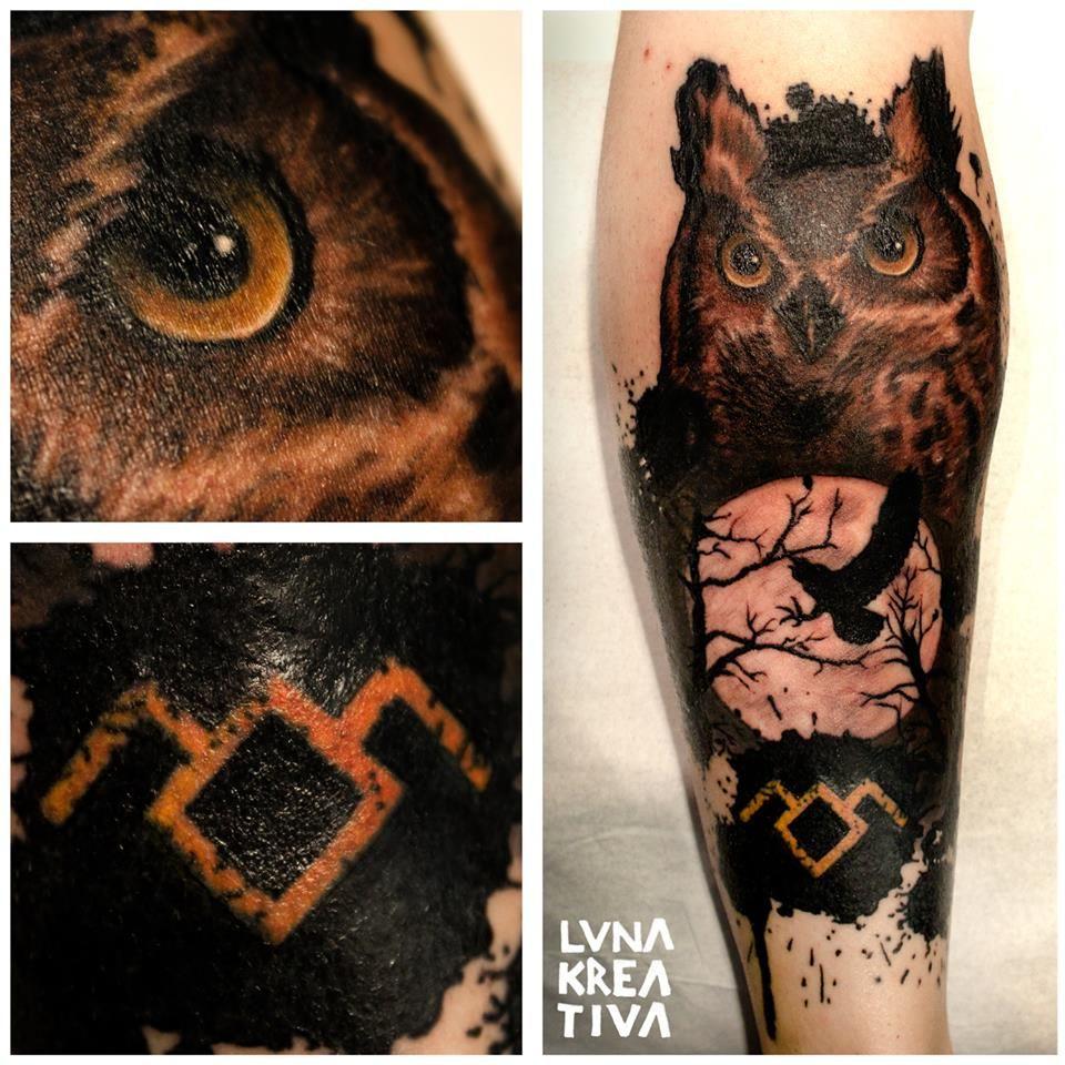 Custom design and tattooing by luna kreativa helsinki