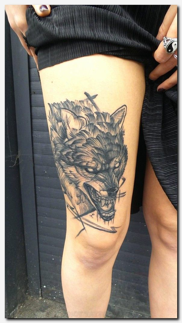 wolftattoo #tattoo men floral tattoos, girl tattoos on rib cage ...