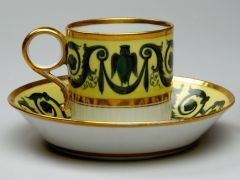 Cup and saucer UNKNOWN ENGLISH (ENGLISH) C. 1810