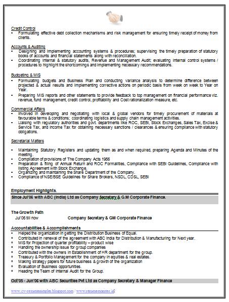 Accountant Resume (2) | Career | Pinterest