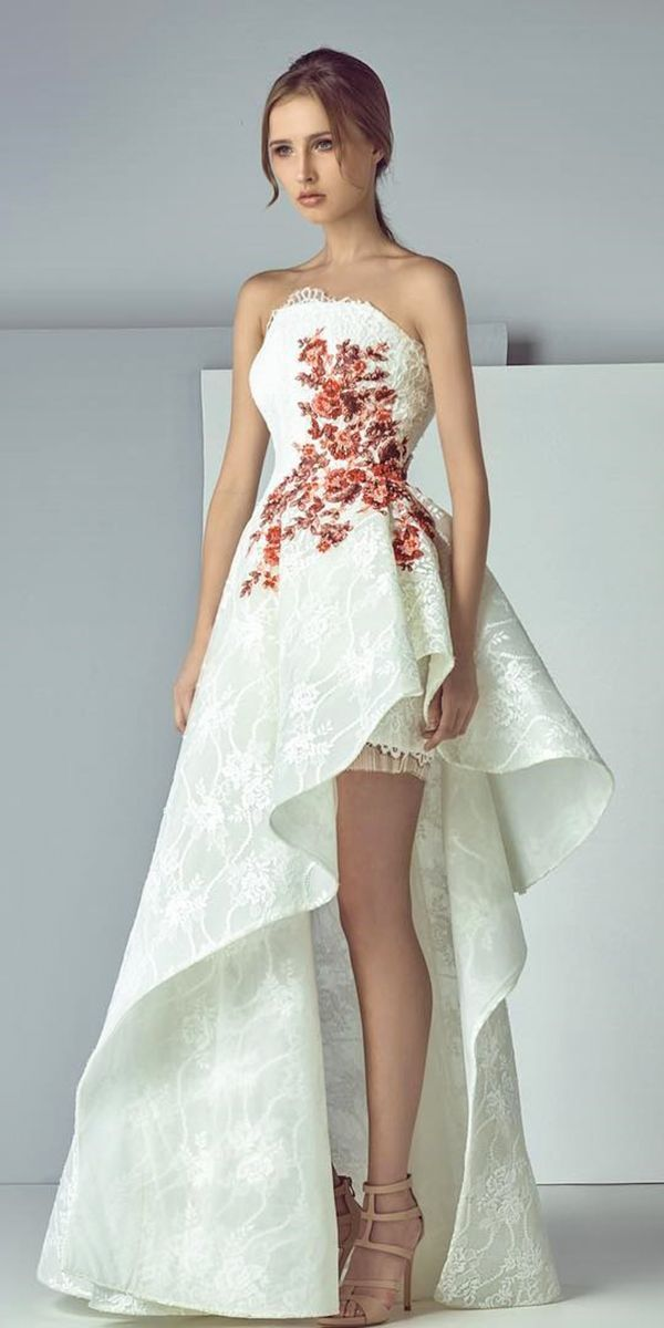 Trend Of The Year 24 High Low Wedding Dresses Wedding Forward High Low Evening Dresses Gowns Dresses