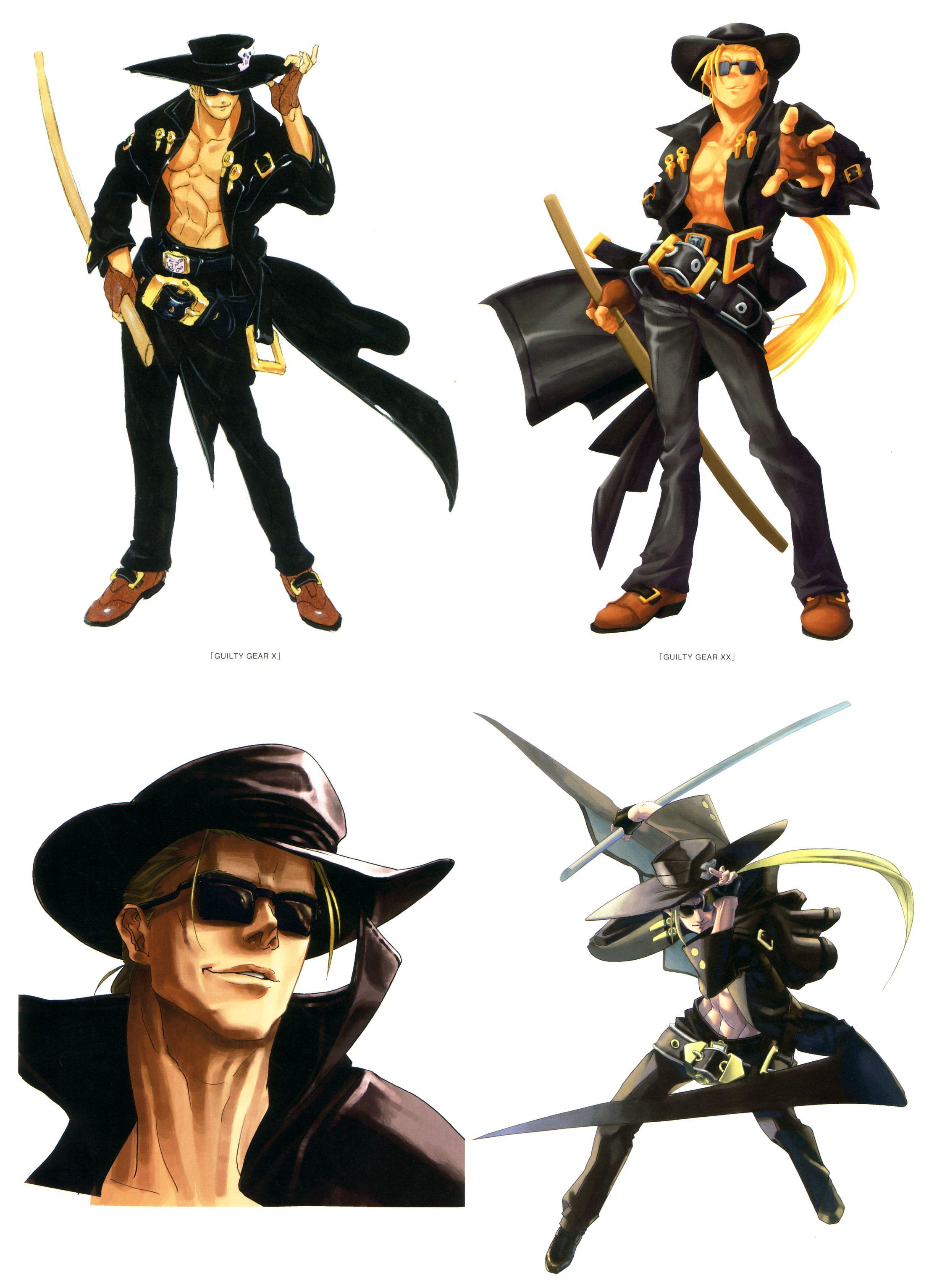 Персонажи Дайсукэ Исиватари для Guilty Gear (122 работ